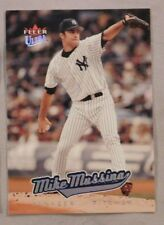 2005 Fleer Ultra Mike Mussina Yankees Baseball Card