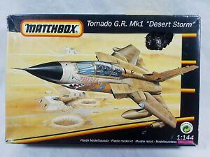 Tornado G.R. MK1 Desert Storm 1/144 Scale Model Kit Matchbox 1992 Aus Seller