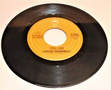 Vinyl Record 45   Louise Mandrell    Yes , I Do  / Put It On Me