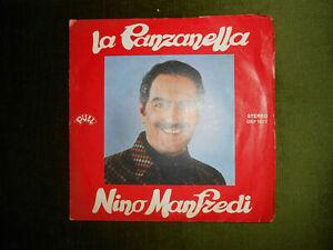 DISCO 45 GIRI: LA PANZANELLA-NINO MANFREDI-1979