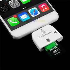 3 in 1 Multi-functional Micro USB Smart Card Reader Adapter For OTG Smartphone