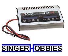 Hitec 44239 X2 700 DC Dual Port Charger w/ 700 Watts per Channel HRC44239 HH