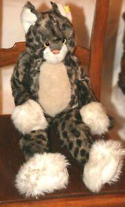 STEIFF wild cat 57 cm Mohair Plush