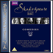 SHAKESPEARE AT THE BBC - COMEDIES *BRAND NEW DVD BOXSET***