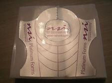 NSI Acrylic Nail Platinum Nail Forms x 30