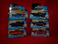 Fast and  Furious 7  1:32 6 cars roadrunner,ford gt, nissan gtr 3 dodge chargers