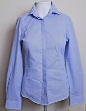 Donna manica corta popeline ufficio//Casual Camicia Taglia UK 8 a 24 Easy Care//Ferro