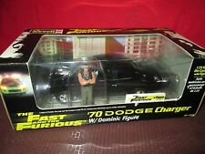 charger w blower The Fast And The Furious w/ dominic figure 1/25 Diecast REVELL