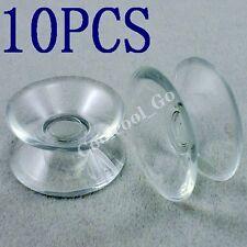 10x Transparent Stark PVC Doppelsauger Doppelseitige Saugnapf 20mm