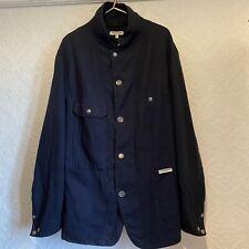 Engineered Garments Chore Style Blue Jacket Large