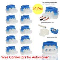 10pcs Wire Connectors for Automower Husqvarna robotic Lawn Mowers Outdoor Garden