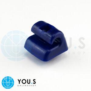 2 x Sonnenblenden Halterung für MERCEDES BENZ W201 W123 W124 W126 - Blau - NEU