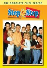 Step By Step: The Complete Sixth Season 6 (Dvd, 2020, 3-Disc Set) Brand New