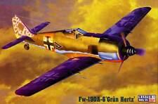MC Focke Wulf Fw-190A-6/Fw-190 A-6 Verde Hertz modelo equipo de construcción 1: