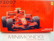 KIT FERRARI F2007 BRITISH GP 2007 RAIKKONEN MASSA 1/20 FUJIMI 09056 GP15
