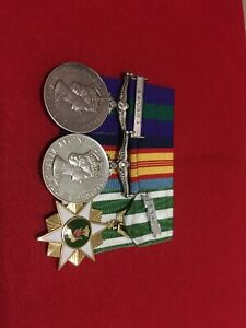 Malaya/Vietnam Medal Group-Two Tours Vietnam-S/Sgt Cochrane 1,2,3 &4 RAR.