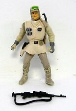 "STAR WARS HOTH REBEL TROOPER Saga Hoth Evacuation Action Figure 4"" COMPLETE 2004"