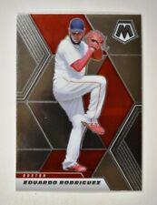 2021 Mosaic Base #186 Eduardo Rodriguez - Boston Red Sox