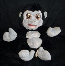 "12"" DISNEY BABIES BLACK TARZAN MONKEY BABY BABOON STUFFED ANIMAL PLUSH TOY APE"