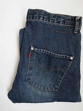 LEVI'S TYPE 3 TWISTED ENGINEERED JEANS W32 L32 MID BLUE LEVH487 #
