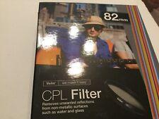Vivitar CPL Circular Polarizer Glass Filter 82mm