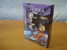Toward the Terra - Part 1 (Anime DVD, 2008, New)