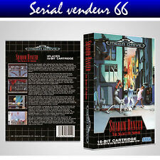 "BOX, CASE ""SHADOW DANCER"". MEGADRIVE. BOX + COVER PRINTED. NO GAME. MULTILINGUAL"