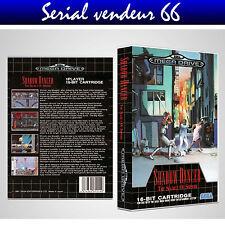 "BOX, CASE ""SHADOW DANCER"". MEGADRIVE. BOX + COVER PRINTED. NO GAME. MULTILINGUAL"