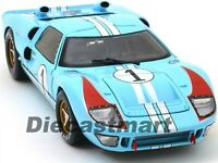 Shelby Collectibles 1:18 1966 Ford GT40 MK 2 Lemans Driven by Ken Miles In Stock