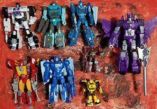 Transformers LOT of figures TITANS RETURN  HOT ROD KUP CYCLONUS BUMBLEBEE