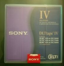 Sony DLT Tape IV DL4TK88 1/2'' Data Cartridge
