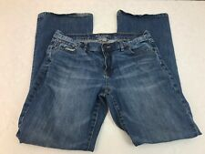New York & Company Women's Denim Jeans Flare Size 10
