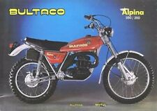 BULTACO Cemoto ALPINA PARTS DIAGRAM MANUAL 100pg for Motorcycle Repair & Service