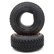 MST KM Crawler Tire 30x90mm 1.9 Inch Soft 30 Degree BK 4WD 1:10 RC Cars #101036