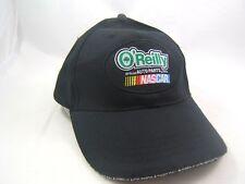 O'Reilly Auto Parts Nascar Hat Black Hook Loop Baseball Cap
