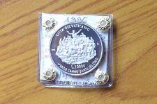 CITTA' VATICANO 10000 LIRE GIOVANNI PAOLO II 1996 VERSO ANNO SANTO ARGENTO PROOF