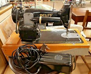Pfaff 30 Semi Industrial Leather Upholstery & Fabric Sewing Machine + Attachment