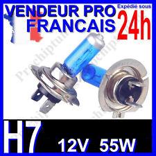 AMPOULE H7 XENON 55W LAMPE POUR VOITURE FEU SUPER WHITE PHARE 12V PLASMA 6500K