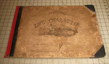 "1855 PICTURES OF LIFE & CHARACTER By John Leech UK ""Punch"" London Hardcover Book"