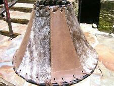 Western Leather Cowhide Lamp Shade 0133