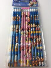 12 Minnie And Mickey Mouse Pencils School Party Favor Supplies Teacher Award