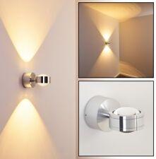 Applique Up/Down LED 2 x 3 Watt Lampe murale Lampe de corridor argentée 63505