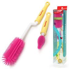 Fisher Price Silicon Bottle Brush Washing Nipple Teat Clean Pink FP071
