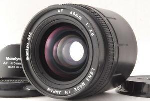 """""""Near Mint"""" Mamiya 645 AF 45mm F/2.8 Lens for 645 AF AFD w/ Hood From Japan D911"""