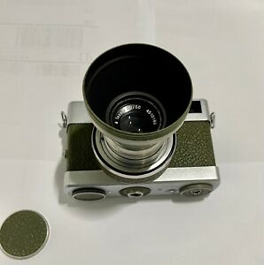 Carl Zeiss Werra camera with Zeiss Terra lens (Olive color)