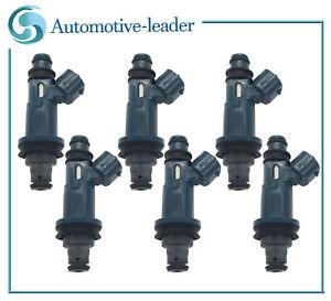 6Pcs Fuel injectors For Toyota Highlander 01-03 Sienna Avalon Solara 98-03 3.0L