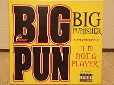 BIG PUNISHER - I'M NOT A PLAYER / WISHFUL THINKING (CDS) 1997!!  RARE!!  FAT JOE