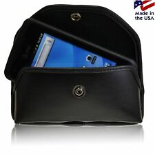 Turtleback Heavy Duty Black Leather Holster Case fits Samsung Rugby Smart i847