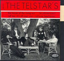 THE TELSTAR's Rare French Group ORIGINAL 1964 Petit Label MINT++  ROLLING STONES