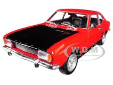 1969 FORD CAPRI RED 1:24-1:27 DIECAST MODEL CAR BY WELLY 24069